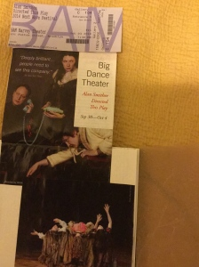 Big Dance Theater perfoming Alan Smithee Directed This Play: Triple Feature at BAM Harvey Theater on October 3, 2014