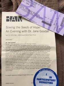 Dr. Jane Goodall lecture