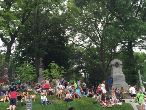 The 18th Annual Memorial Day Concert, 2016 at Green-Wood Cemetery.