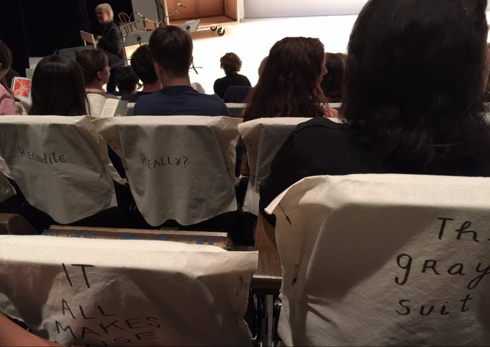 Seat Covers at Dance Heginbotham: The Principles of Uncertainty